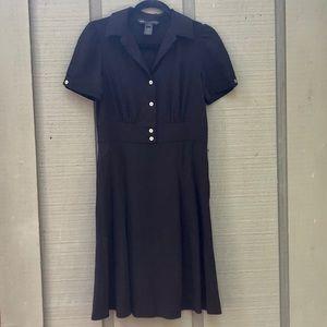 Black Marc Jacobs button-down dress